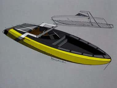B-1 Boat Design Project