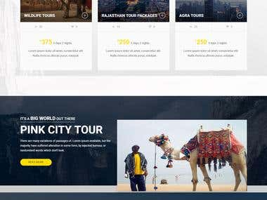 Online Travel Booking Project