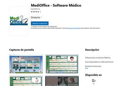 MediOffice (Desktop App) Distributed in the Microsoft Store