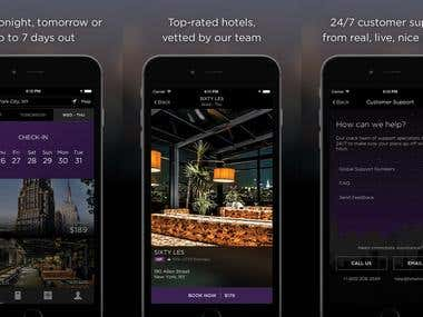 Hotel Tonight-Travel app