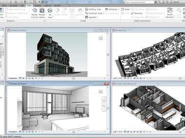 REVIT ARCHITECTURE 3D