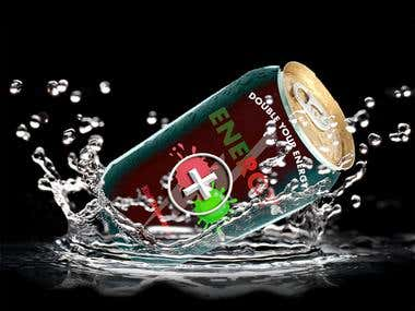 Beverage Can Ad