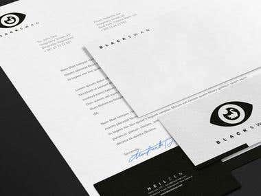 Black Swan - Branding