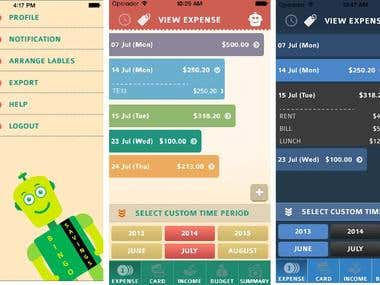 Saving your pocket money iPhone Apps designs & development