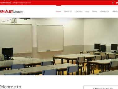 VSmart Institute Website