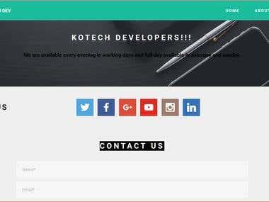 Kotech developers website