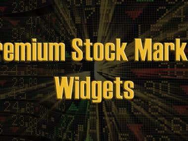Premium Stock Market Widgets