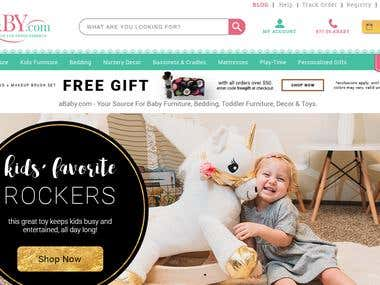 Ababy - Baby Furniture Website