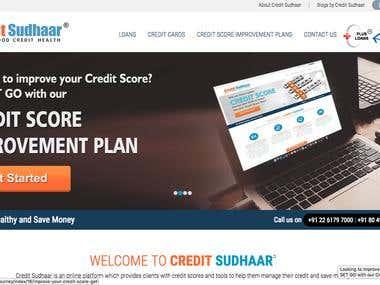 Credit Sudhaar - Credit Rating Website