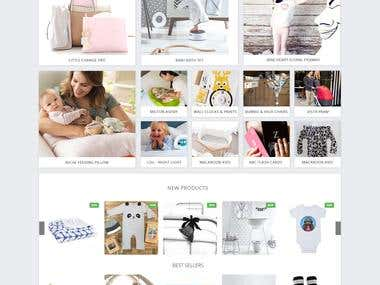 World Boutique - Magento - Baby Products & Clothes