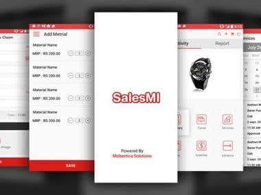 Sales MI App