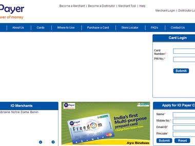 IO Payer e-Wallet System