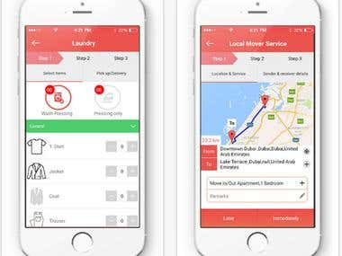 Service Provider iOS