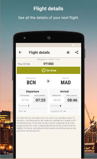 Travel Android app