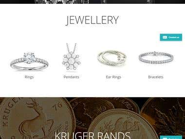 Bryanston Jwellery website