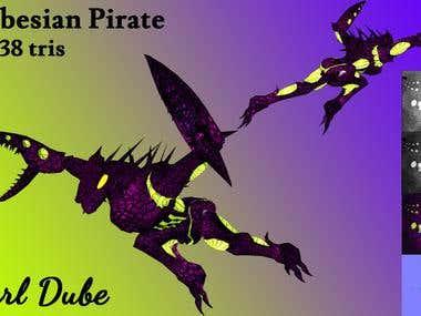 Zebesian Pirate