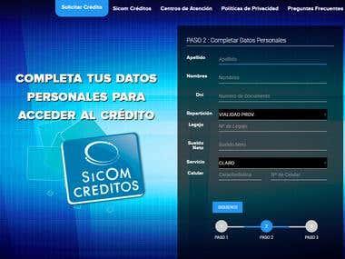 Sicom Creditos Online( https://creditos.sicomonline.com.ar )