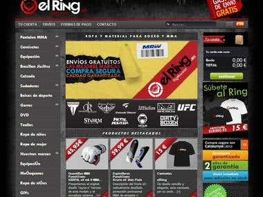 PrestaShop e-commerce: http://elring.es