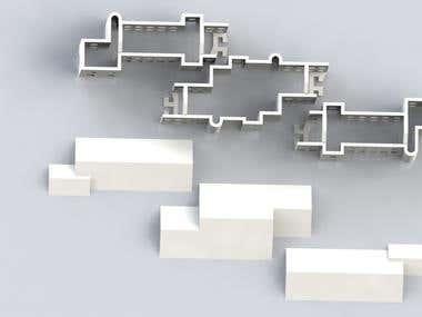 Model for 3D printing house