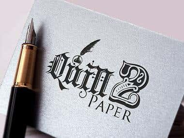 Quill 2 Paper Custom Logo