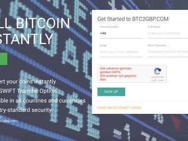 Bitcoin exchange trade site