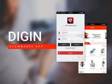 DIGIN E-Commerce App