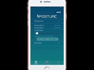 Posture Mobile App Improve Your Position & Your Productivity