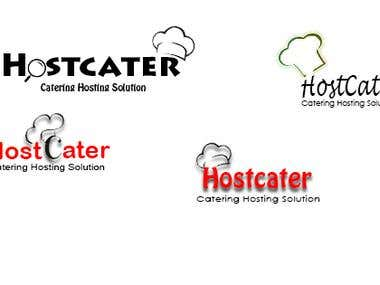HostCater Logo Design