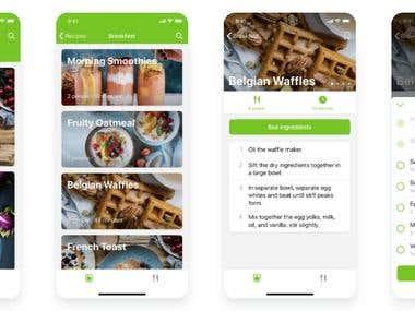 Recipe | Foods Apps Development Services