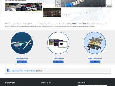 Mayachitra - Wordpress based website
