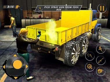 Car Mechanic Truck Repair(Android/IOS Game)