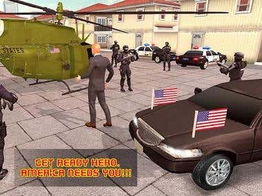 USA Presedential Helicopter Sim(Android/IOS Game)