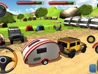 Offraod Camper Van Driving(Android/IOS Game)