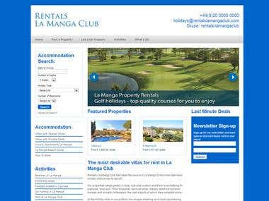 Property Rantal Website