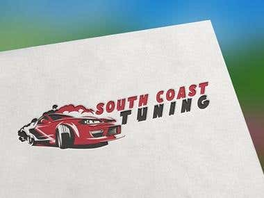 South Coast Tuning Automobile Company Logo