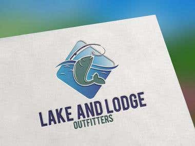 Lake and Lodge Fishing Outfitters Logo