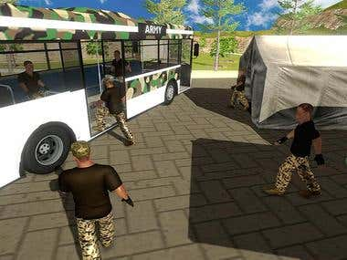 Indian Army Offroad Bus Driver(Android/IOS Game)