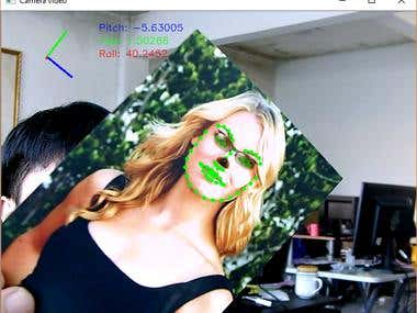 Face Masking(OpenCV, C++,Face Recognition, Image Processing)