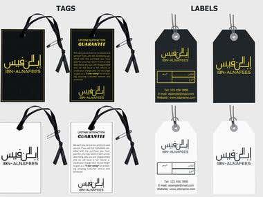 Labels and hang tags