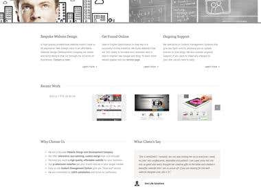 Web Design Holic Website