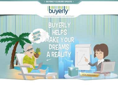 Drupal - http://www.buyerly.com