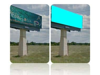 Billboard detection