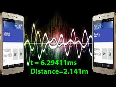 (Android,iPhone)SonicMeter- Acoustic ranging system