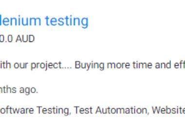 PHP Webdriver Selenium testing