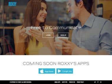 Roxxy Dating web Application