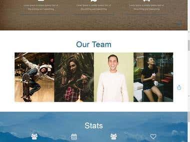 Travel Agency Web Designing