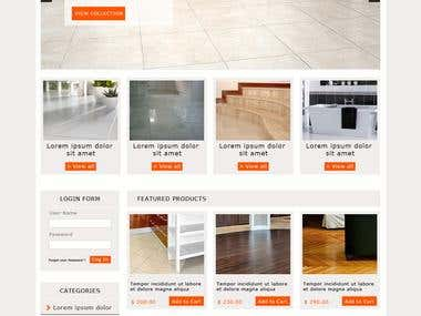 Floor and Tiles company website