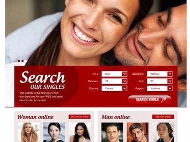 Dating Web page