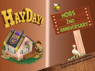HayDay Greeting Card