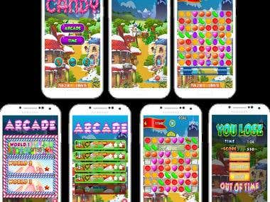 Candy Crush Clone